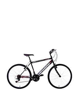 Schiano Cicli Bicicleta 26 Wild Cat, 18V. Negro
