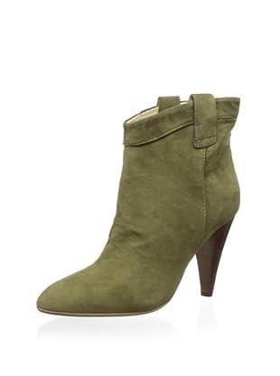 Ella Moss Women's Benny Heel Ankle Bootie (Emerald)