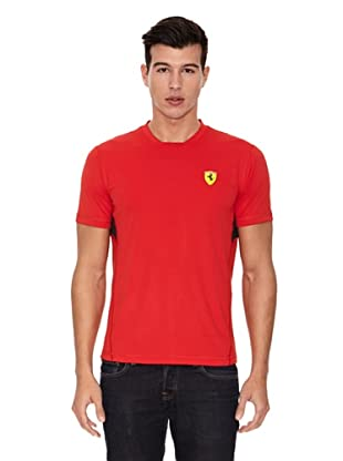 Ferrari Camiseta Performance (Rojo)