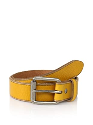 Bill Adler Men's Jelly Bean Belt (Yellow)