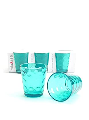 Miakasa Set de 6 Vasos Bolle Azul