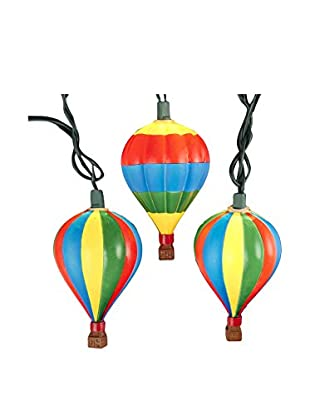 Kurt Adler Hot Air Balloon Light Set