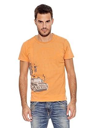 Pepe Jeans London Camiseta Britishopen (Naranja)