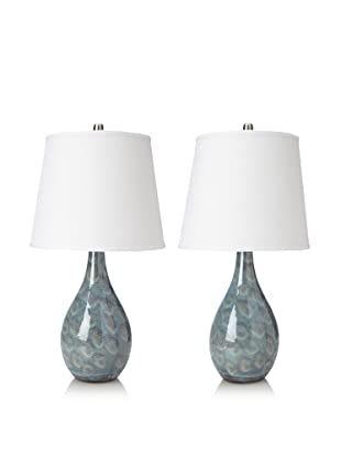 UMA Ceramic Table Lamp (Set of 2)