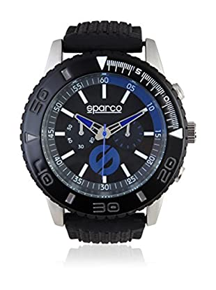 Sparco Uhr Jackie schwarz/blau 42 mm