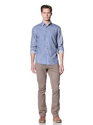 John Varvatos * USA Men's Slim Fit Shirt (Atlantic)