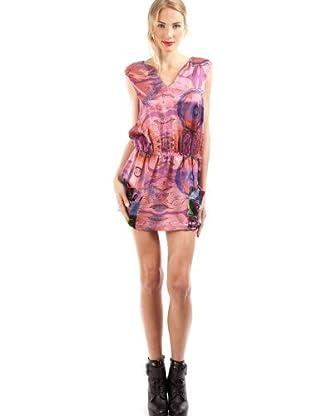 Custo Vestido Bridget (Coral)