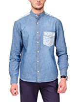 Yepme Men's Denim Multi-Coloured Cotton Shirt- YPMSHRT0532_38