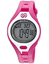 Soleus 'Dash' Quartz Plastic Running Watch, Color:Pink (Model: SR019-630)