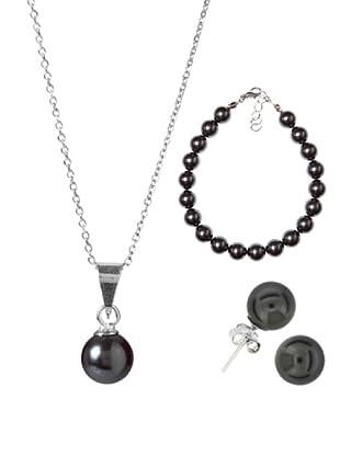 MUSAVENTURA Conjunto  Pearls  Negro