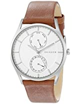 Skagen End-of-season Holst Chronograph White Dial Men's Watch - SKW6176
