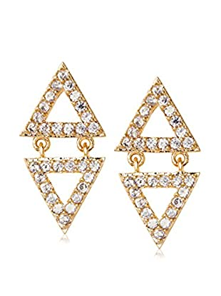 Chloe & Theodora Reverse Pyramid Earring