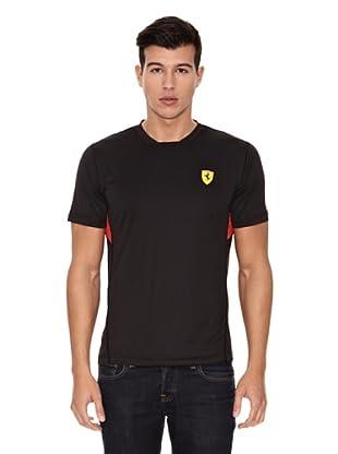 Ferrari Camiseta Performance (Negro)