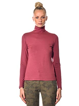 Eccentrica Pullover mit Stehkragen (Dunkelrosa)