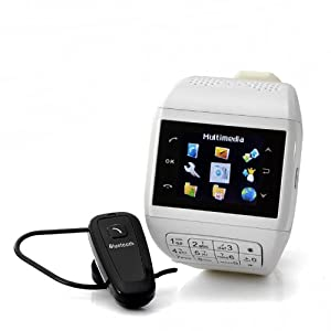OEM Cell Phone Watch Mobile Phone Watch With Keypad - Dual Sim, Touch Screen, Bluetooth Headset, 4Gb Micro Sd Card