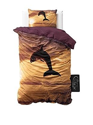 SleepTime Juego De Funda Nórdica Water Dolphin