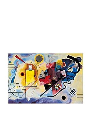 Artopweb Wandbild Kandinsky Gelb-Rot-Blau 90x60 cm mehrfarbig