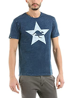 Hot Buttered T-Shirt Star (Indigo)