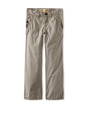 Rose Pistol Boy's Courtland Checked Pant (Buff)