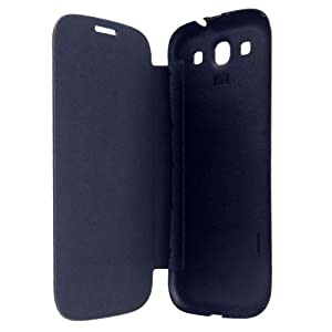BLACK FLIP COVER OF MOBILE SAMSUNG GALAXY DUOS S7562 FREE SHIPPING