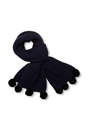 French Connection Bufanda  Aida (Azul oscuro / Negro)
