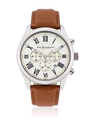 Joh. Rothmann Reloj con movimiento cuarzo japonés 10030026 Cognac 42.5 mm