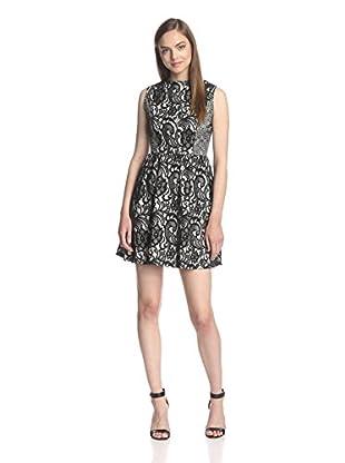 Miss Finch Women's Lace Design Dress