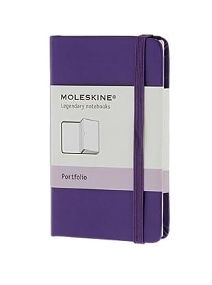 Moleskine Portafolio Violeta