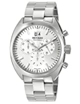 Movado Men's 0606477 Datron Quartz Chronograph Stainless-Steel Silver Dial Watch