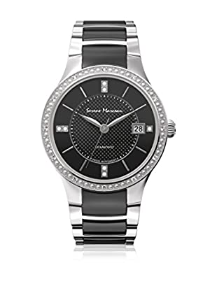 Serene Marceau Diamond Reloj de cuarzo Woman Series I Negro 28 mm