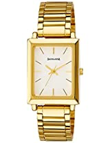 Sonata Analog White Dial Men's Watch - NF7078YM01