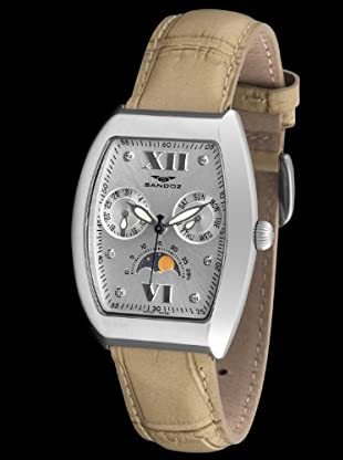 Sandoz 72532-08 - Reloj Col. Diver rectangular beige