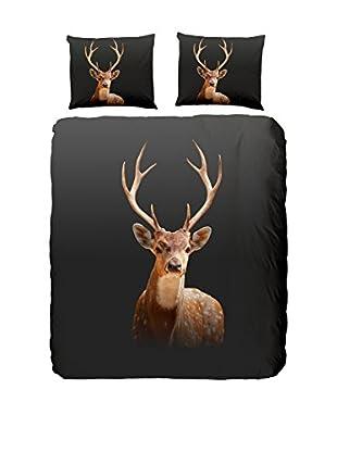 Good Morning Bettdecke und Kissenbezug Deer