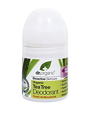 Dr Organic Deodorante Roll-On Tea Tree 50 ml