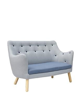 International Design USA Poet Sofa, Blue Multi