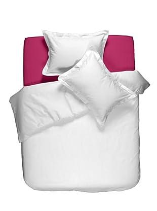Casual Textil Sábana Bajera Casual (Fucsia)