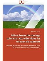 Mecanismes de Routage Tolerants Aux Vides Dans Les Reseaux de Capteurs (Omn.Univ.Europ.)
