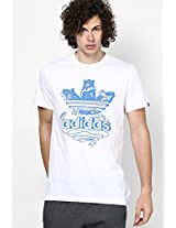 Illustrative Trefoil Crew Neck Tee Adidas Originals