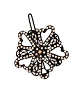 AccessHer Floral Hair Side Pin And Accessory
