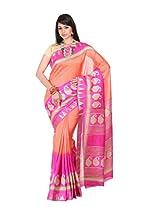 Kanheyas Art Silk Printed Saree