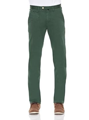 Pedro del Hierro Pantalón Chino Ppt Oscar (Verde Oscuro)