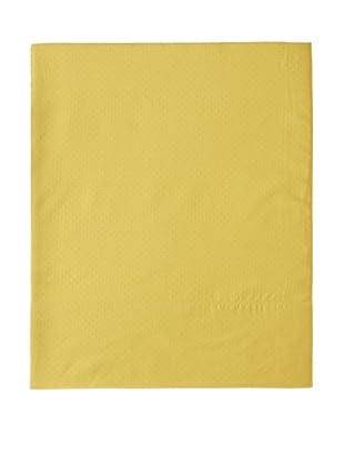 Coyuchi Pointille Flat Sheet (Sunflower)