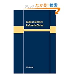 Labour Market Reform in China (Trade and Development)