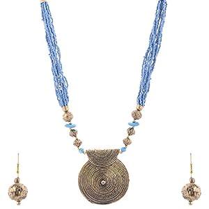 The Crazy Neck Beads Neckpiece jewellery Set