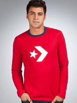 Converse Camiseta (Rojo)