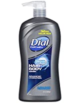 Dial Body Wash For Men, Hydro Fresh, 32 Ounce