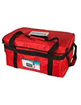 Icelings Insulated Rectangular Cooler Bag (Big) Red