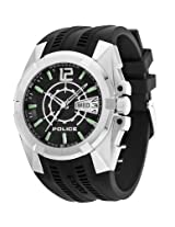Police MultiFunction Analog Black Dial Men's Watch - 12154JS/02