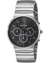 Skagen Analogue Black Dial Men's Watch - SKW6165