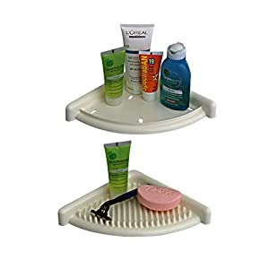 Cipla Plast 3D Bath Shelves Set BRC-711-WH, white